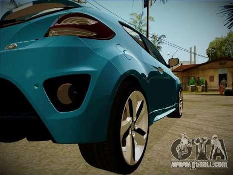 Hyundai i30 3-door hatchback 2013 for GTA San Andreas back view