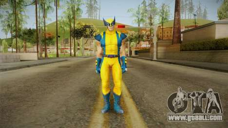 Marvel Heroes - Wolverine Modern UV No Claws for GTA San Andreas second screenshot
