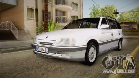 Opel Omega A Kombi for GTA San Andreas back left view