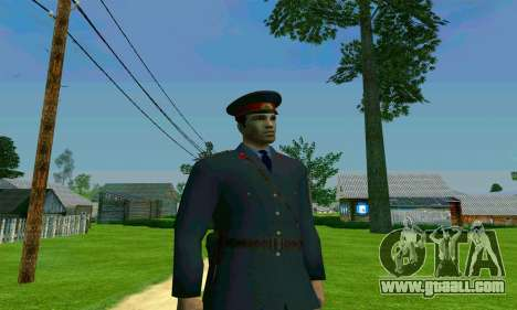 The police captain of the USSR for GTA San Andreas