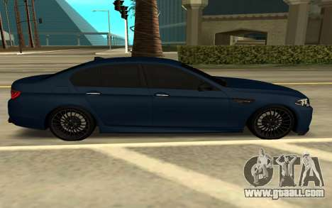 BMW F10 for GTA San Andreas left view
