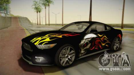 Ford Mustang GT 2015 5.0 for GTA San Andreas engine