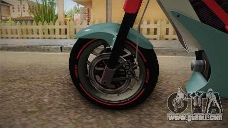 GTA 5 Principe Diabolus for GTA San Andreas back view