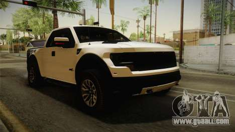 Ford F-150 SVT Raptor 2014 for GTA San Andreas right view