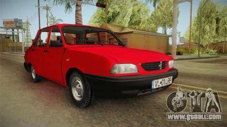 Dacia 1410 Berlina for GTA San Andreas right view