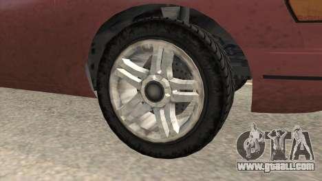 GTA 5 Vapid Stanier SA Style for GTA San Andreas