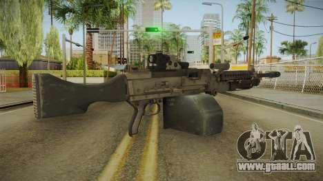 Battlefield 4 - M240B for GTA San Andreas second screenshot