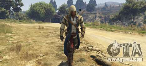 GTA 5 Connor Kenway Assassins Creed 3