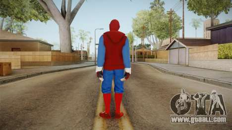 Spider-Man Homecoming - Home Costume (Fan Made) for GTA San Andreas third screenshot