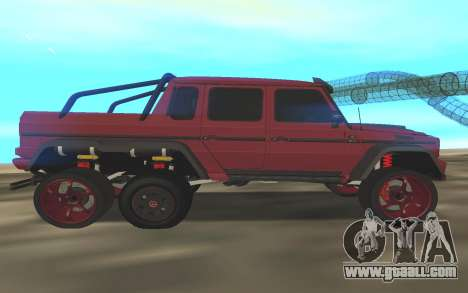 BRABUS G6x6 for GTA San Andreas left view