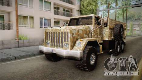New Barracks for GTA San Andreas