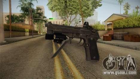 Battlefield 4 - M93R for GTA San Andreas