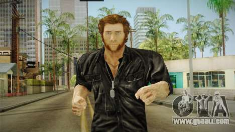 Logan in Black No Claws for GTA San Andreas
