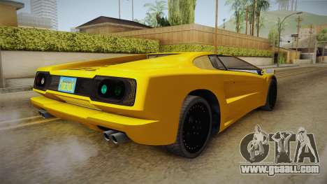 GTA 5 Pegassi Infernus Classic Cabrio for GTA San Andreas