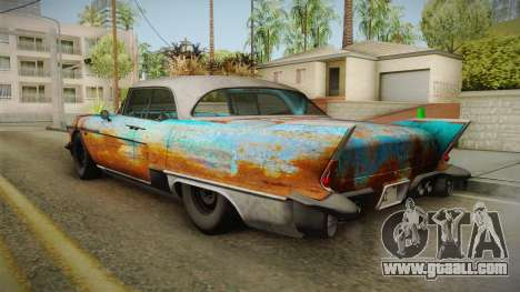 Cadillac Eldorado Brougham 1957 Rusty IVF for GTA San Andreas right view