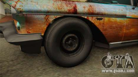 Cadillac Eldorado Brougham 1957 Rusty IVF for GTA San Andreas back view