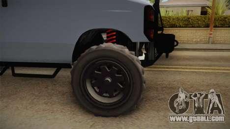 GTA 5 Bravado Rumpo Custom for GTA San Andreas inner view