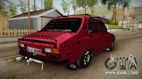 Dacia 1310 TX 1985 for GTA San Andreas back left view