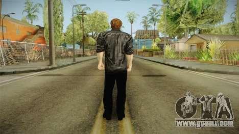 Logan in Black No Claws for GTA San Andreas third screenshot
