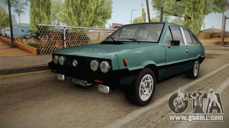 FSO Polonez Coupe 2.0X for GTA San Andreas back left view