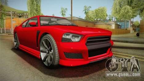 GTA 5 Bravado Buffalo 2-doors Coupe IVF for GTA San Andreas