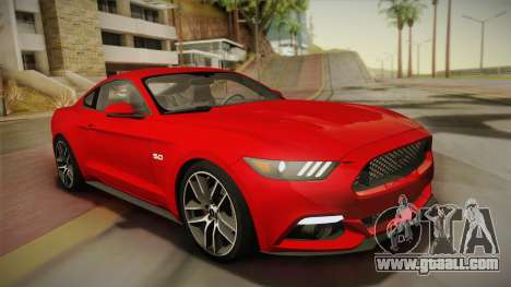 Ford Mustang GT 2015 5.0 for GTA San Andreas