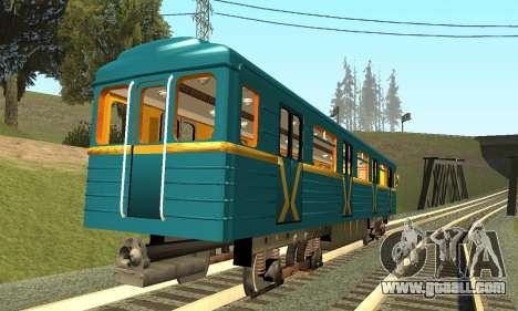 ST_M Metrovagon type Hedgehog for GTA San Andreas right view