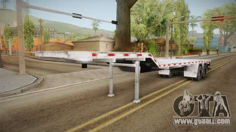 American Flatbed (Multiple) Trailer for GTA San Andreas
