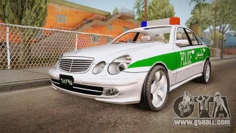 Mercedes-Benz E500 Iranian Police for GTA San Andreas
