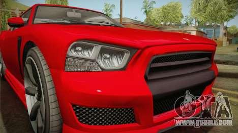 GTA 5 Bravado Buffalo 2-doors Coupe IVF for GTA San Andreas side view