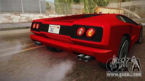 GTA 5 Pegassi Infernus Classic SA Style for GTA San Andreas side view