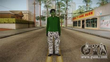 Spider-Man Homecoming - Hulk Thief for GTA San Andreas second screenshot