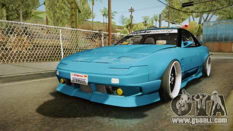 Nissan 180SX RPS13 Type-X for GTA San Andreas