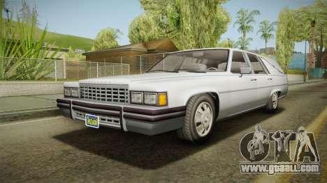 GTA 5 Albany Emperor Hearse IVF for GTA San Andreas
