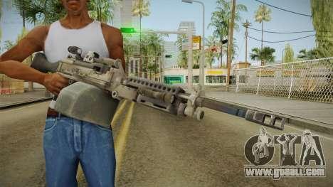 Battlefield 4 - M240B for GTA San Andreas third screenshot