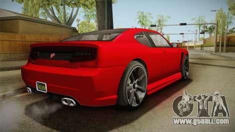 GTA 5 Bravado Buffalo 2-doors Coupe IVF for GTA San Andreas right view