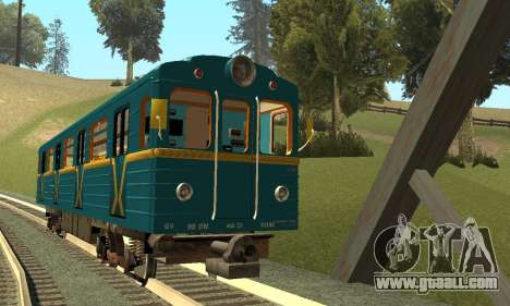 ST_M Metrovagon type Hedgehog for GTA San Andreas