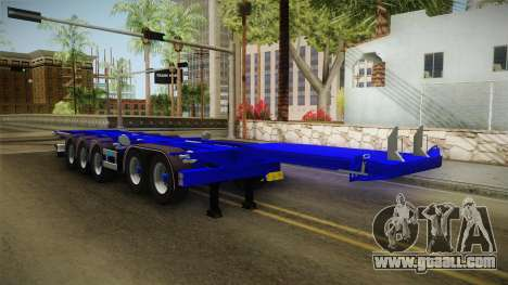 Trailer Container v3 for GTA San Andreas right view