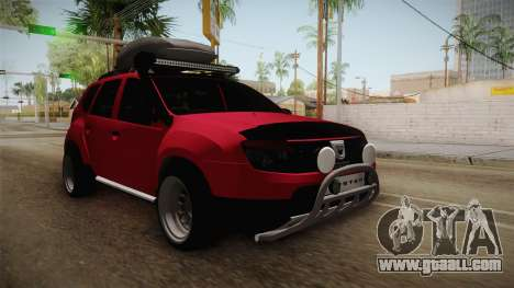 Dacia Duster Offroad for GTA San Andreas
