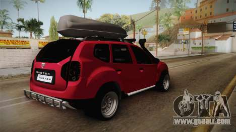 Dacia Duster Offroad for GTA San Andreas right view