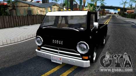 Dodge A100 Pickup for GTA San Andreas