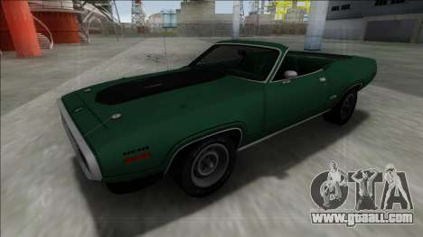 Plymouth GTX Cabrio for GTA San Andreas right view