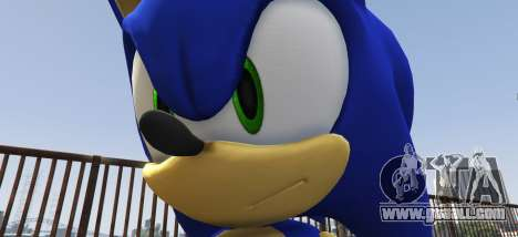 GTA 5 Sonic The Hedgehog second screenshot