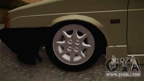 Fiat Regata 1.6 for GTA San Andreas back view