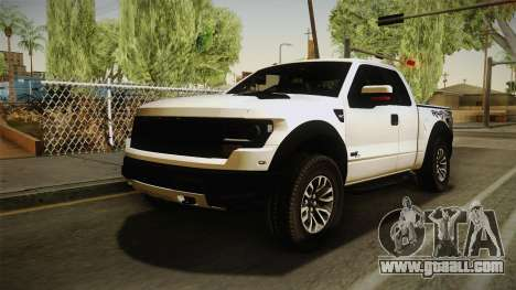 Ford F-150 SVT Raptor 2014 for GTA San Andreas