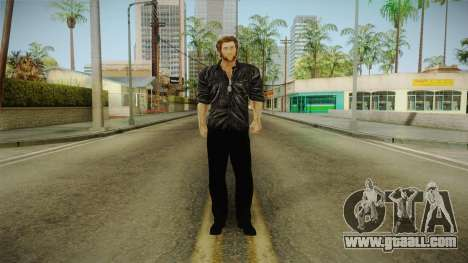 Logan in Black No Claws for GTA San Andreas second screenshot