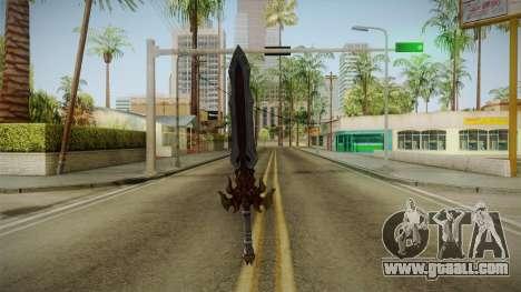Injustice: Gods Among Us - Ares Sword for GTA San Andreas third screenshot