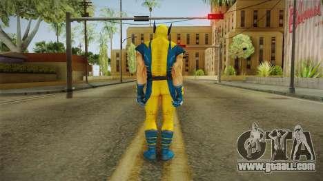 Marvel Heroes - Wolverine Modern UV No Claws for GTA San Andreas third screenshot
