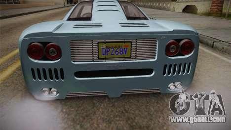 GTA 5 Progen GP1 IVF for GTA San Andreas upper view