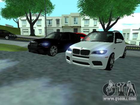 BMW X5 E70 Armenian for GTA San Andreas side view